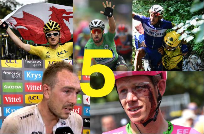 Cinco momentos em que o Tour de France foi mais que um esporte!