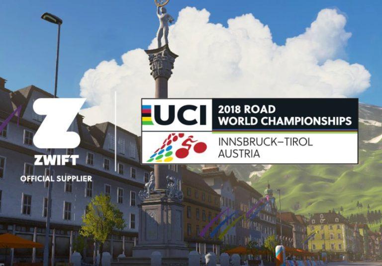 Zwift lança percurso do mundial de ciclismo