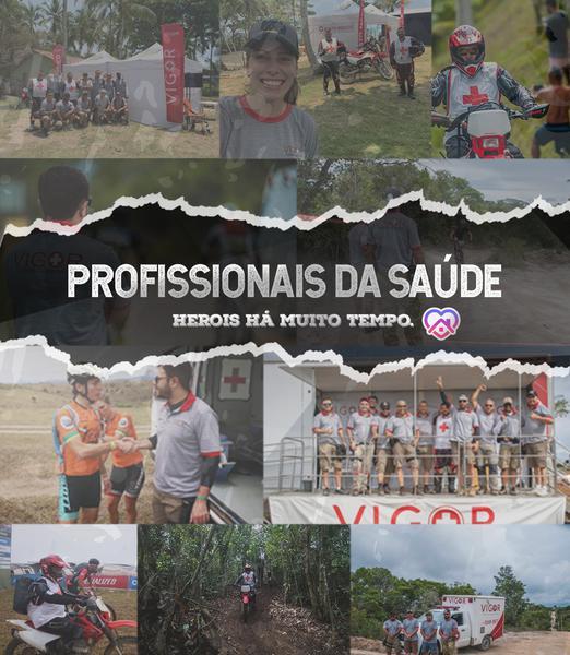 Brasil Ride oferece inscrições gratuitas para profissionais de saúde!