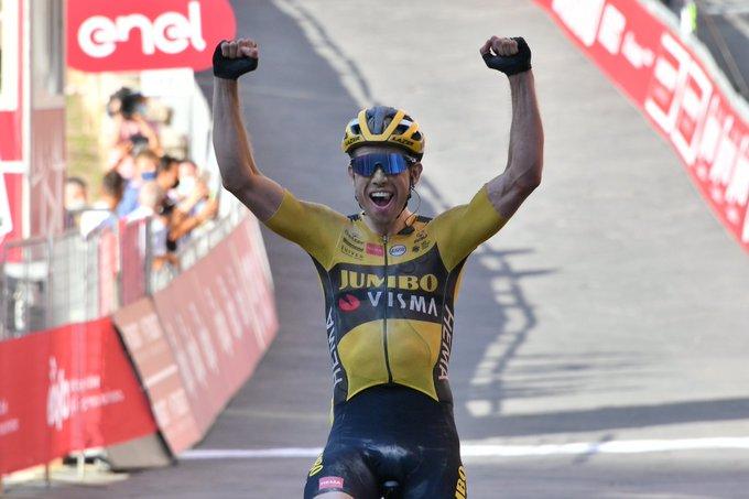 Wout Van Aert venceu a Strade Bianche 2020